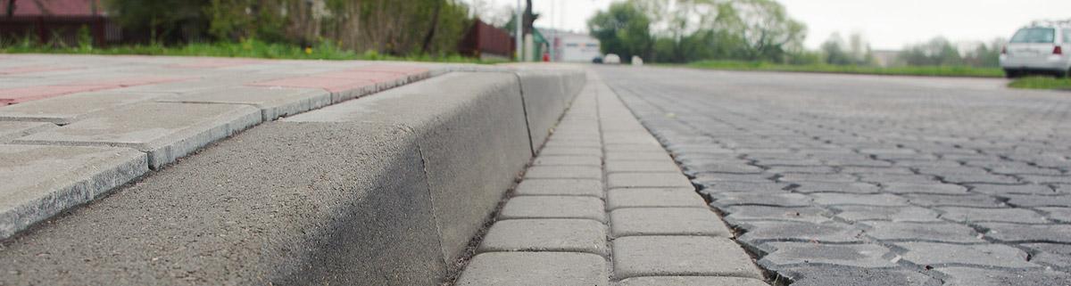 Установка тротуарного борта, дорожного борта в Минске Услуги bordur01